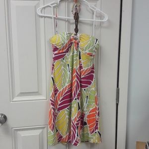Women's sz Med BCX halter summer dress. NWT